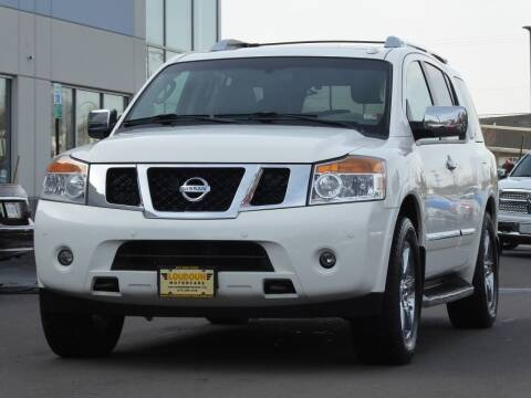 2010 Nissan Armada for sale at Loudoun Used Cars - LOUDOUN MOTOR CARS in Chantilly VA