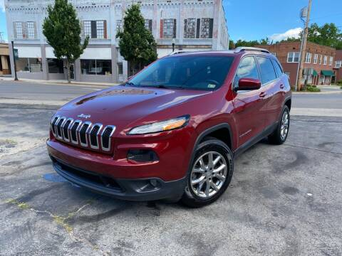 2015 Jeep Cherokee for sale at East Main Rides in Marion VA