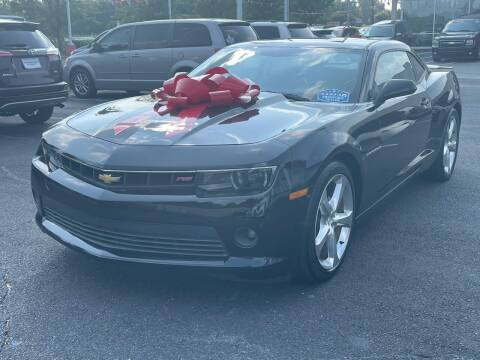 2014 Chevrolet Camaro for sale at Charlotte Auto Group, Inc in Monroe NC