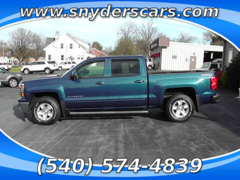 2015 Chevrolet Silverado 1500 for sale at Snyders Auto Sales in Harrisonburg VA