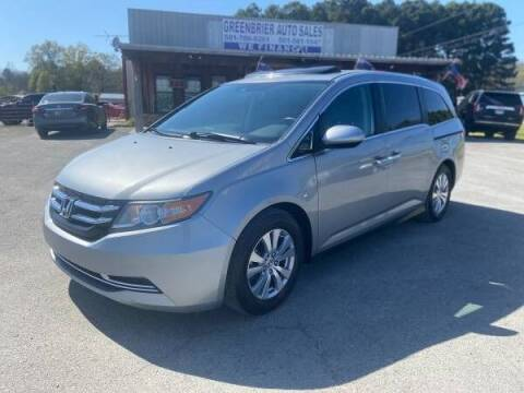 2016 Honda Odyssey for sale at Greenbrier Auto Sales in Greenbrier AR