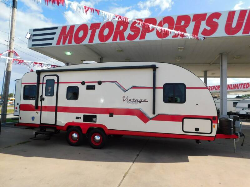 2022 Gulf Stream Vintage Cruiser 23RSS for sale at Motorsports Unlimited in McAlester OK