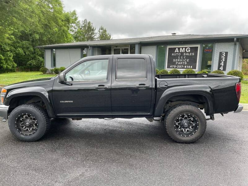 2004 Chevrolet Colorado for sale at AMG Automotive Group in Cumming GA
