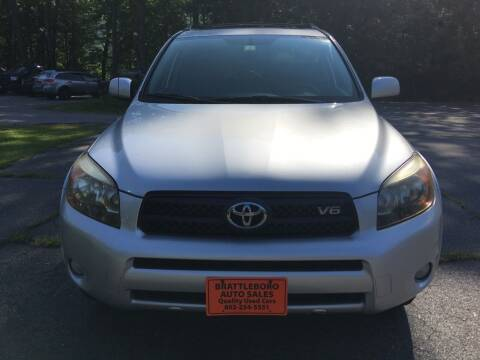 2007 Toyota RAV4 for sale at BRATTLEBORO AUTO SALES in Brattleboro VT