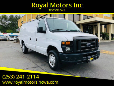 2012 Ford E-Series Cargo for sale at Royal Motors Inc in Kent WA