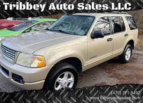 2005 Ford Explorer for sale at Tribbey Auto Sales in Stockbridge GA