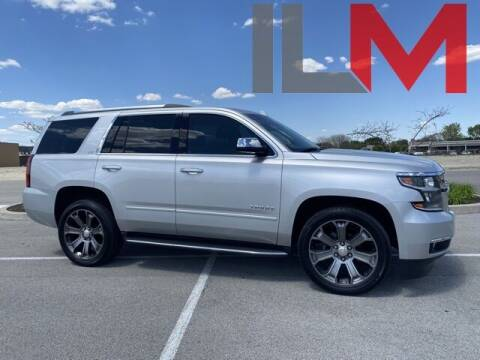2016 Chevrolet Tahoe for sale at INDY LUXURY MOTORSPORTS in Fishers IN