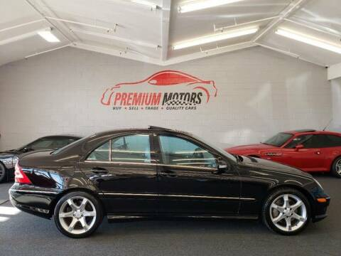 2007 Mercedes-Benz C-Class for sale at Premium Motors in Villa Park IL