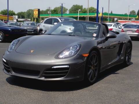 2015 Porsche Boxster for sale at CITY SELECT MOTORS in Galesburg IL