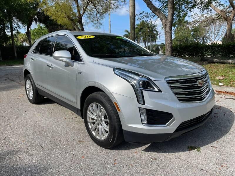 2019 Cadillac XT5 for sale at DELRAY AUTO MALL in Delray Beach FL