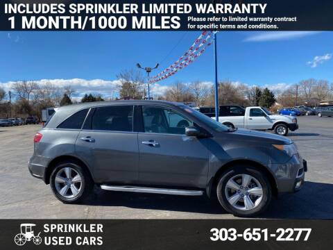 2010 Acura MDX for sale at Sprinkler Used Cars in Longmont CO