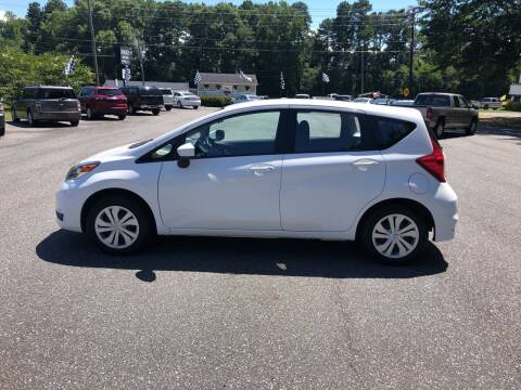 2017 Nissan Versa Note for sale at Dorsey Auto Sales in Anderson SC