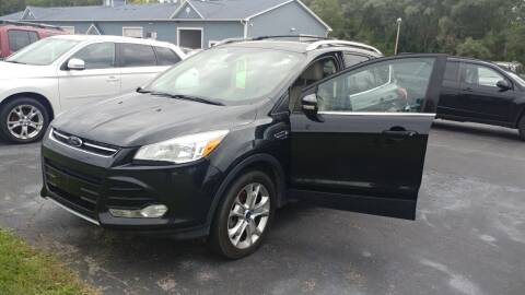 2014 Ford Escape for sale at Pool Auto Sales Inc in Spencerport NY