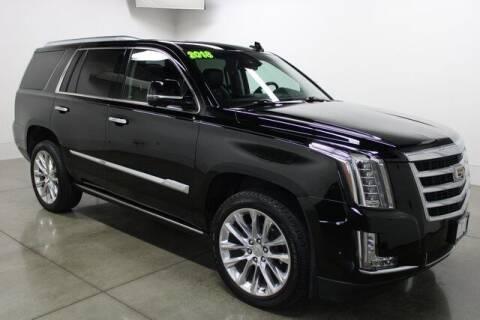 2018 Cadillac Escalade for sale at Bob Clapper Automotive, Inc in Janesville WI