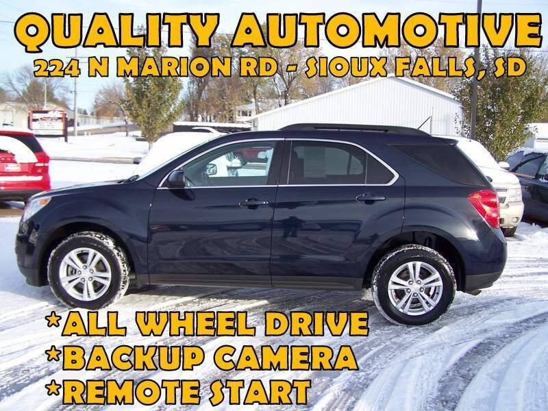 2015 Chevrolet Equinox for sale at Quality Automotive in Sioux Falls SD