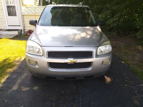 2005 Chevrolet Uplander for sale at Maple Street Auto Sales in Bellingham MA