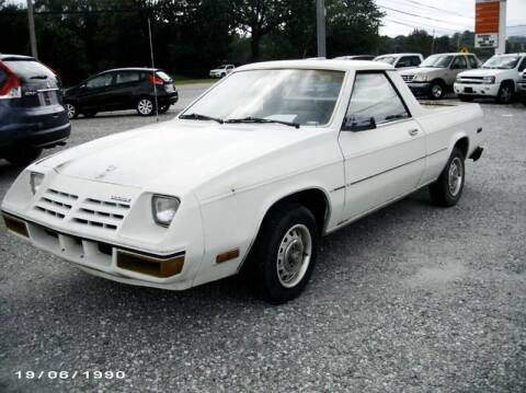 1983 Dodge Rampage for sale at RAY'S AUTO SALES INC in Jacksboro TN