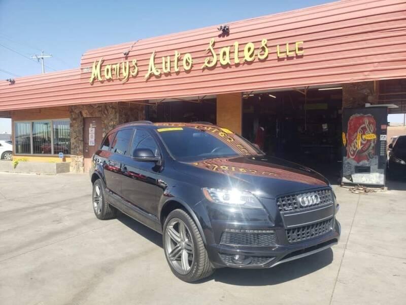 2013 Audi Q7 for sale at Marys Auto Sales in Phoenix AZ