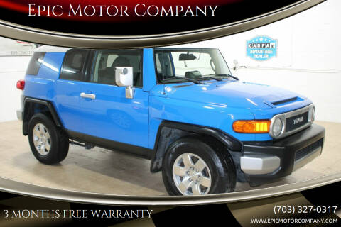2007 Toyota FJ Cruiser for sale at Epic Motor Company in Chantilly VA