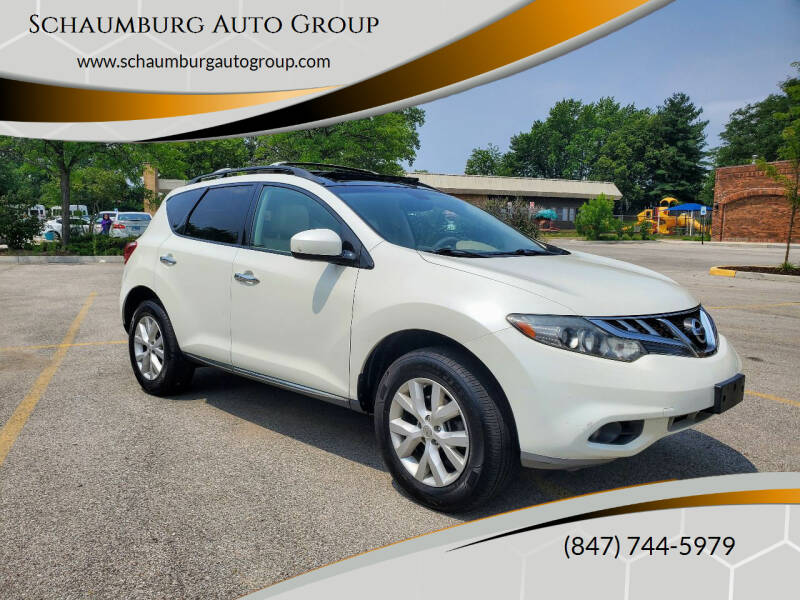 2011 Nissan Murano for sale at Schaumburg Auto Group in Schaumburg IL