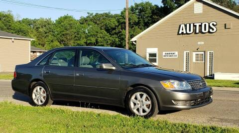 2004 Toyota Avalon for sale at Riverfront Auto Sales in Middletown OH