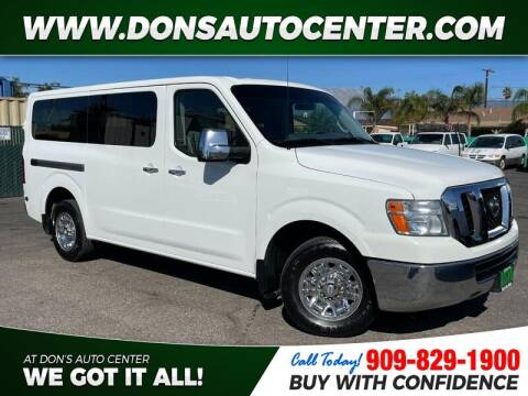 2014 Nissan NV Passenger for sale at Dons Auto Center in Fontana CA