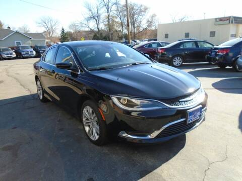2016 Chrysler 200 for sale at DISCOVER AUTO SALES in Racine WI