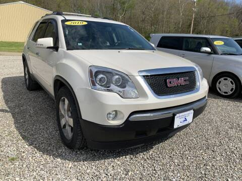 2010 GMC Acadia for sale at Court House Cars, LLC in Chillicothe OH