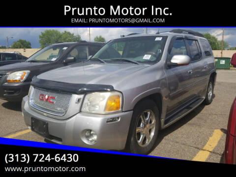 2005 GMC Envoy XL for sale at Prunto Motor Inc. in Dearborn MI