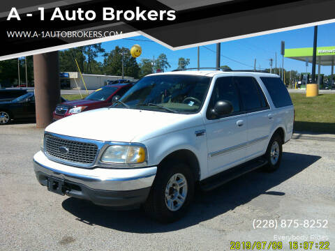 2000 Ford Expedition for sale at A - 1 Auto Brokers in Ocean Springs MS