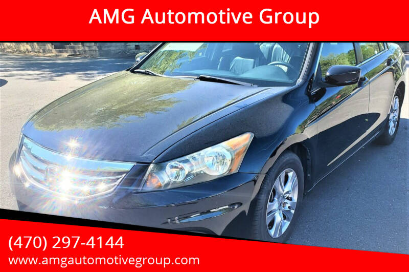 2011 Honda Accord for sale at AMG Automotive Group in Cumming GA