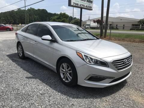 2015 Hyundai Sonata for sale at J & D Auto Sales in Dalton GA