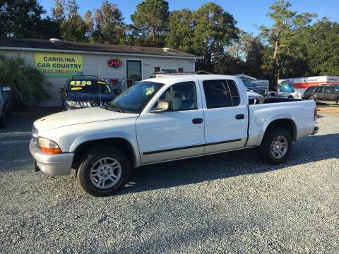 2004 Dodge Dakota for sale at Carolina Car Country in Little River SC