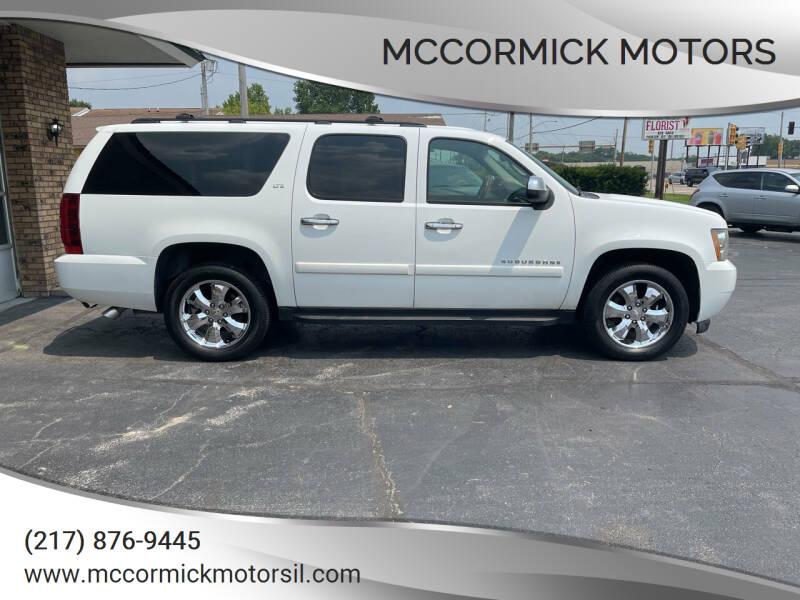 2008 Chevrolet Suburban for sale at McCormick Motors in Decatur IL
