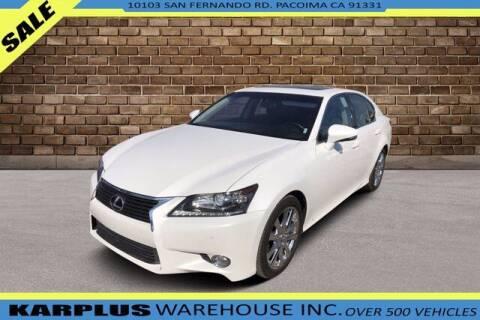 2015 Lexus GS 350 for sale at Karplus Warehouse in Pacoima CA