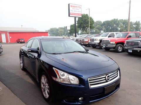 2012 Nissan Maxima for sale at Marty's Auto Sales in Savage MN