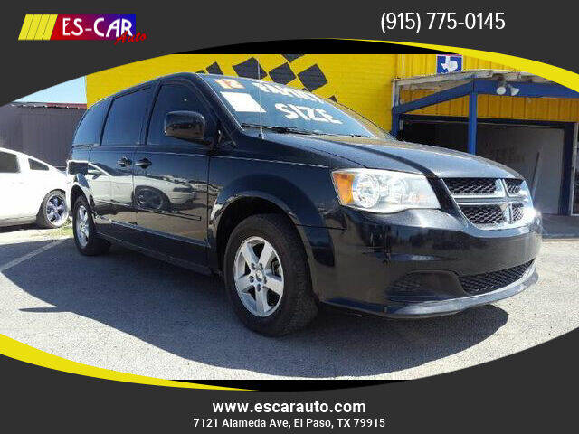 2012 Dodge Grand Caravan for sale at Escar Auto in El Paso TX