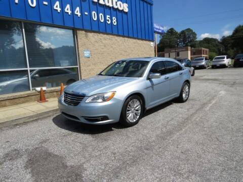 2013 Chrysler 200 for sale at Southern Auto Solutions - 1st Choice Autos in Marietta GA