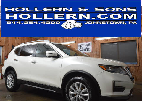 2018 Nissan Rogue for sale at Hollern & Sons Auto Sales in Johnstown PA