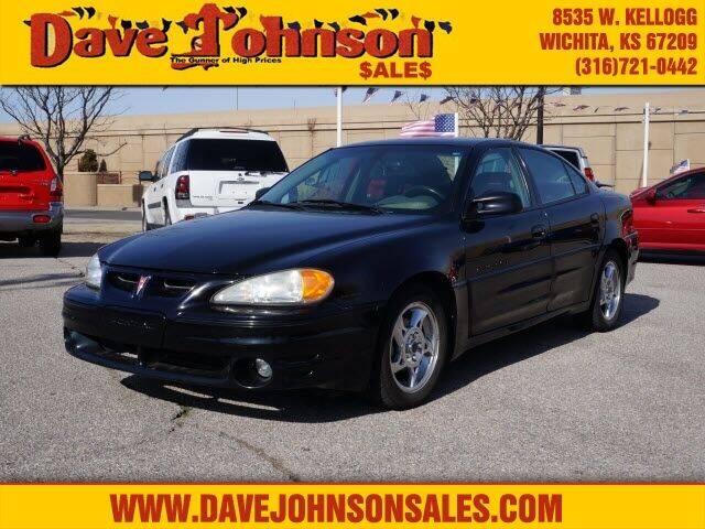 2002 Pontiac Grand Am for sale at Dave Johnson Sales in Wichita KS