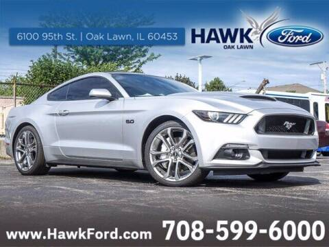 2016 Ford Mustang for sale at Hawk Ford of Oak Lawn in Oak Lawn IL