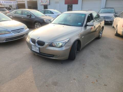 2008 BMW 5 Series for sale at Bad Credit Call Fadi in Dallas TX