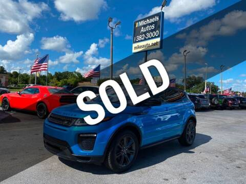 2018 Land Rover Range Rover Evoque for sale at Michaels Autos in Orlando FL