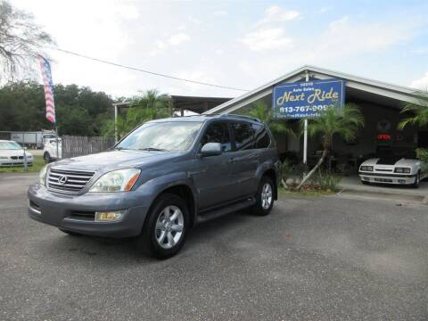 2005 Lexus GX 470 for sale at NEXT RIDE AUTO SALES INC in Tampa FL