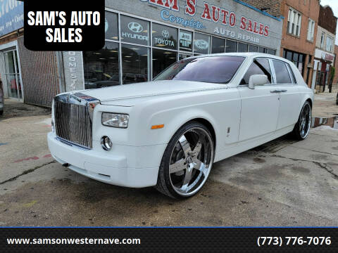2007 Rolls-Royce Phantom for sale at SAM'S AUTO SALES in Chicago IL