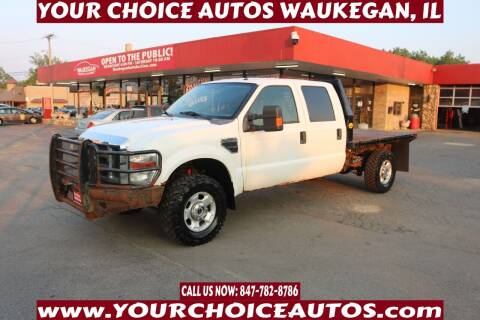2010 Ford F-350 Super Duty for sale at Your Choice Autos - Waukegan in Waukegan IL
