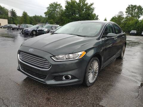 2015 Ford Fusion for sale at Cruisin' Auto Sales in Madison IN