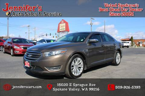 2016 Ford Taurus for sale at Jennifer's Auto Sales in Spokane Valley WA