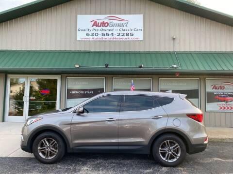 2017 Hyundai Santa Fe Sport for sale at AutoSmart in Oswego IL