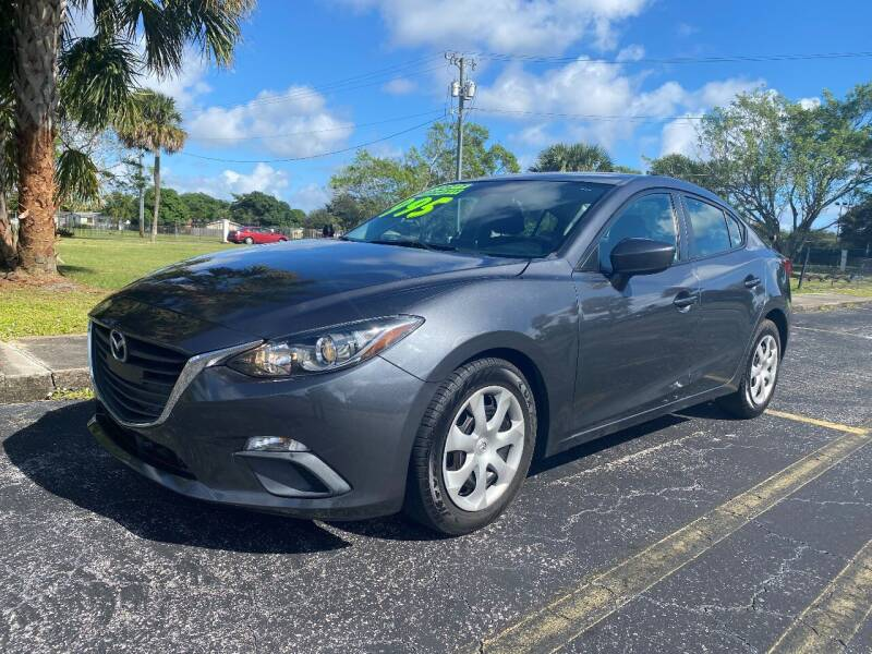 2015 Mazda MAZDA3 for sale at Lamberti Auto Collection in Plantation FL
